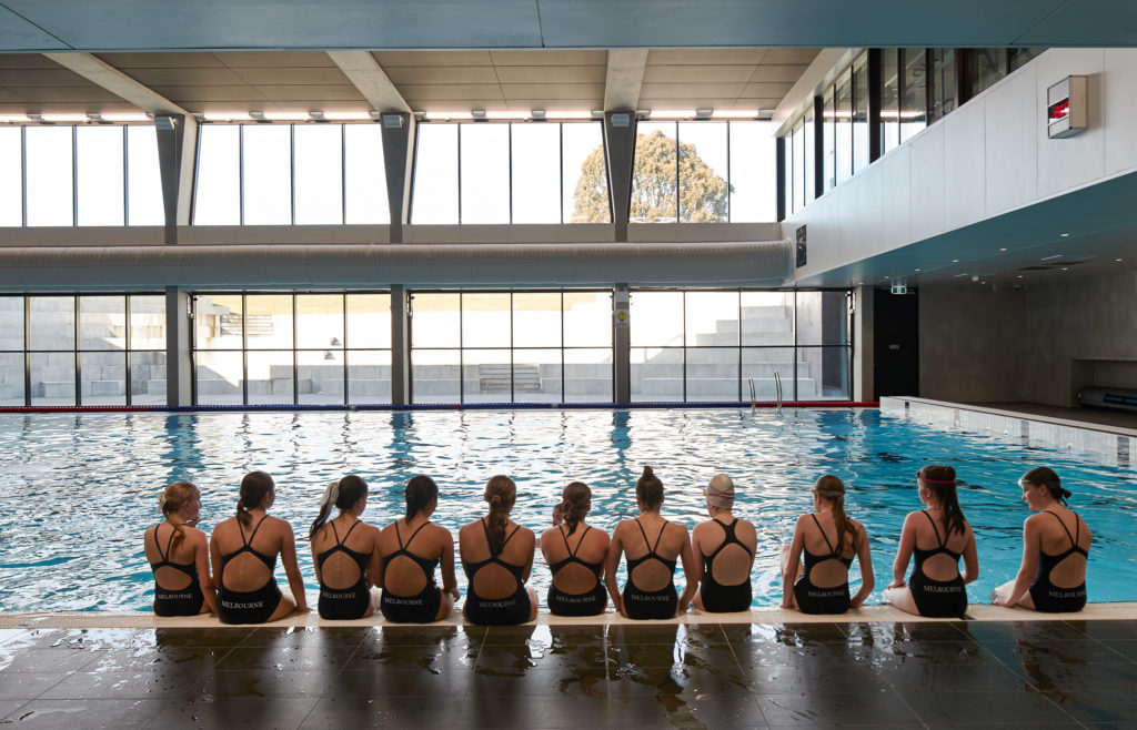 Melbourne girls grammar unveils new wellbeing centre - Female only swimming pool melbourne ...